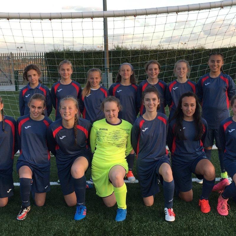 Yaxley Ladies U13s beat Cambridge city  2 - 1