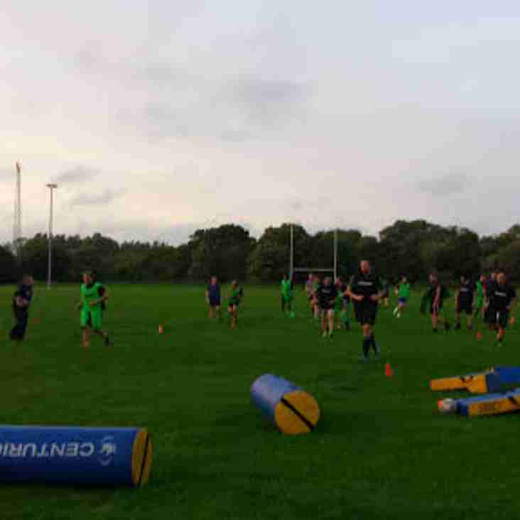 First Pre-season game at home for East Dorset RFC