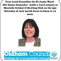 Local Councillor Ward Surgeries at Moorside C&BC