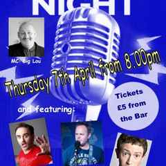 April's Comedy Night line-up re-arranged