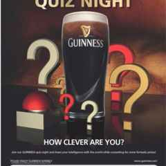 Next Quiz Night - Saturday June 4th @ 9:00pm
