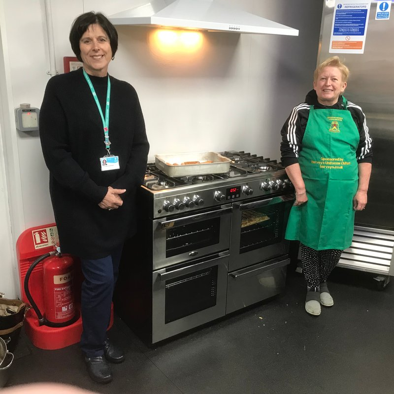 Local Councillors continue to support Moorside's Over 60s Luncheon Club