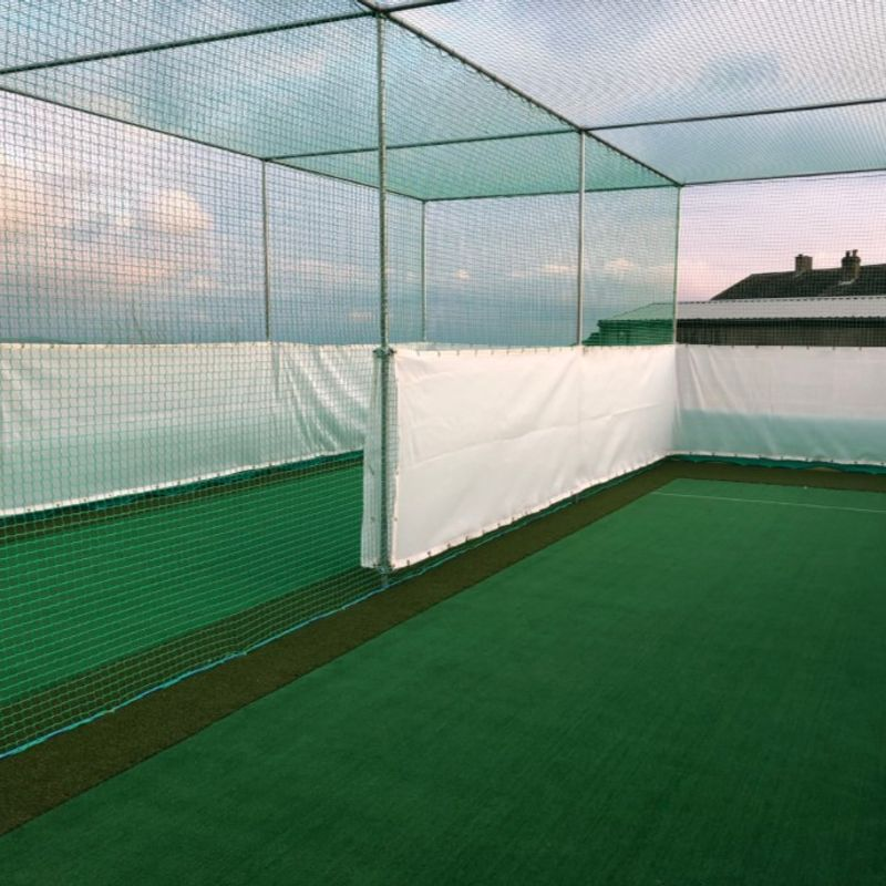 New Cricket Nets Completed Today!