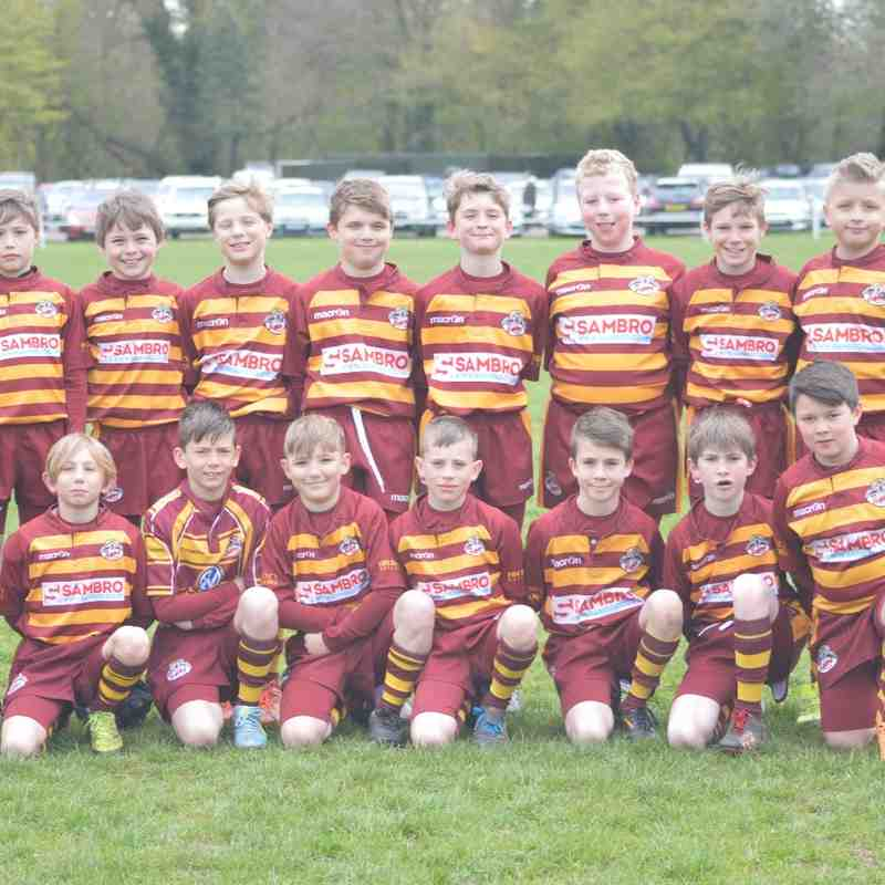 U10s at Wilmslow Festival