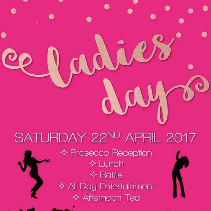 Ladies Day Saturday 22nd April