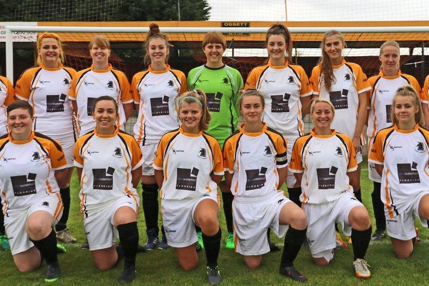 Ladies  lose to Harrogate Town  2 - 7