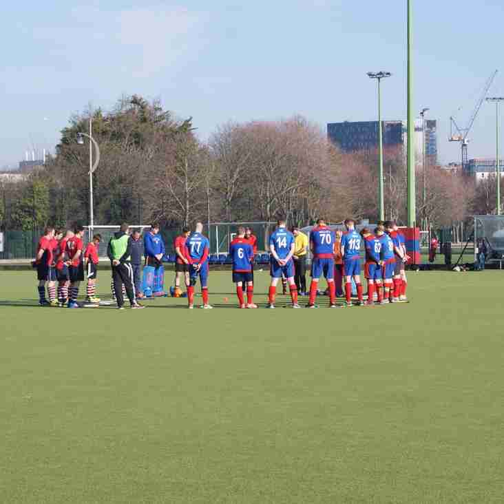 Men's 2's held to a 1-1 draw