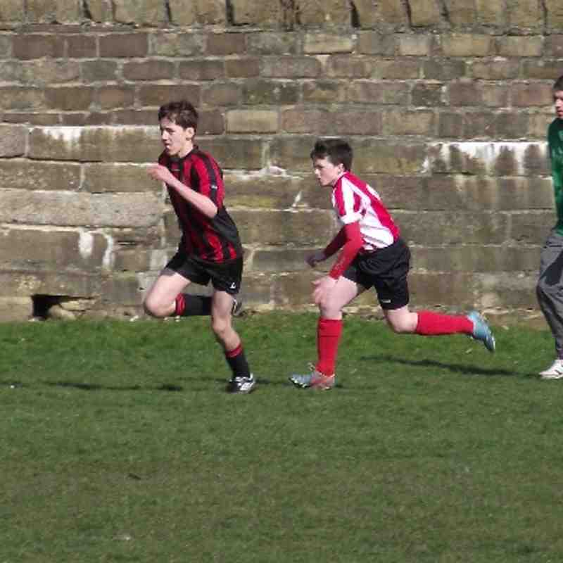 Bingley U14A v Crossley (Cup) 9.3.14