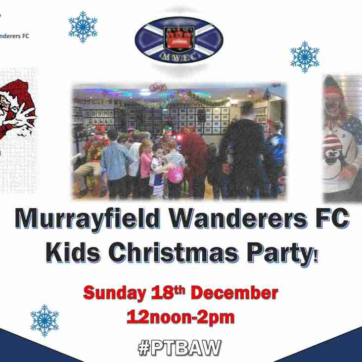Wandies Kids Christmas Party