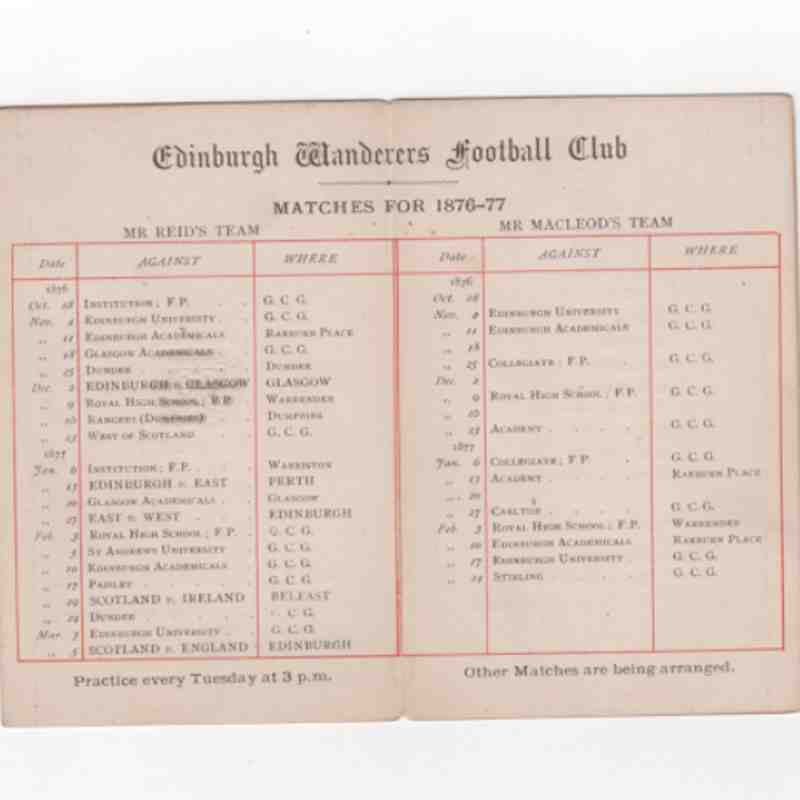 Wanderers 150th
