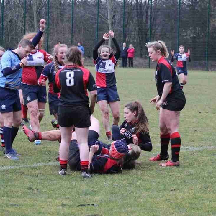 Wandies Girls vs Biggar Girls