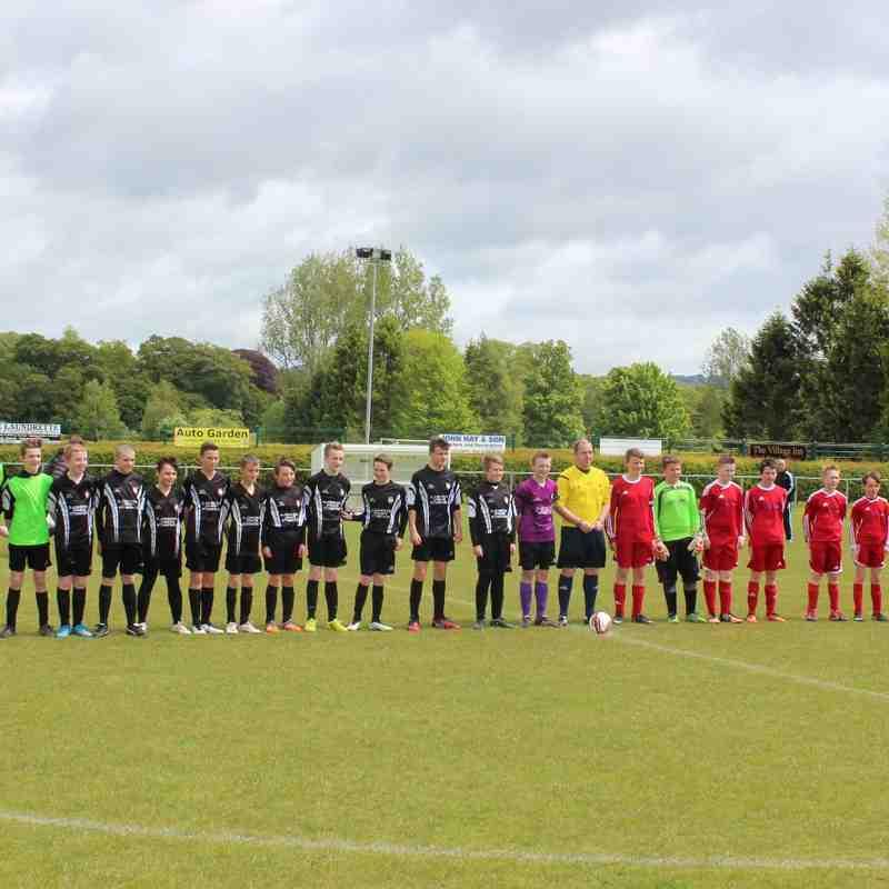 Last game of the season, Jeanfield Reds v Jeanfield Blacks