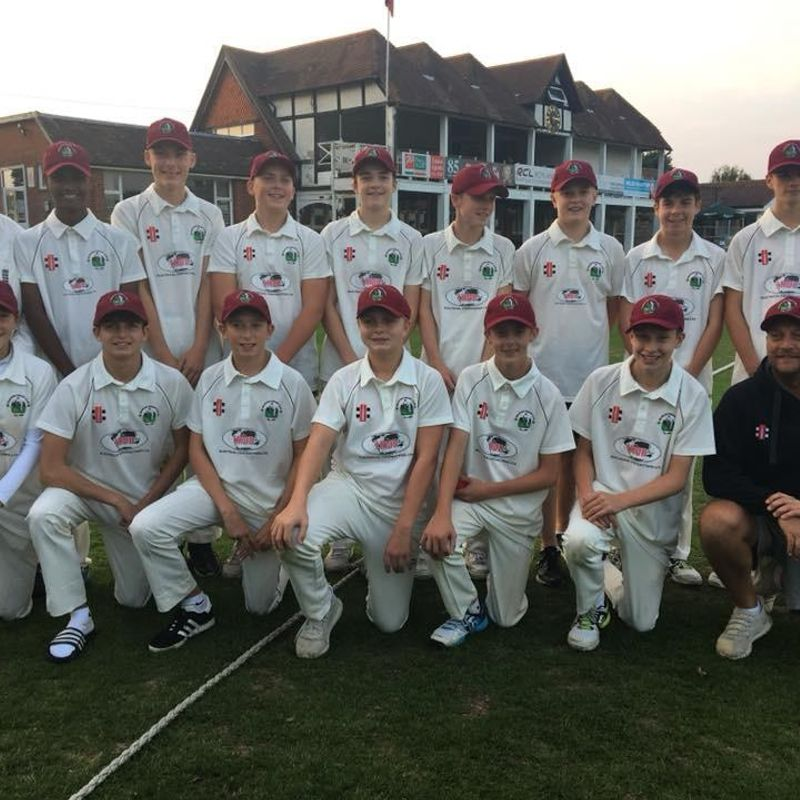 Under 16's Success in WOK Plate Final