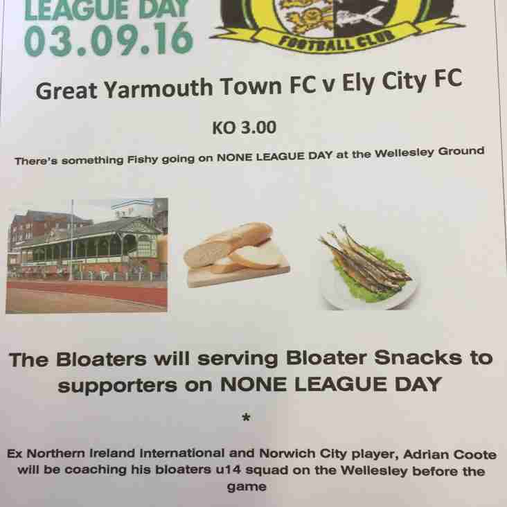 Non League Day in Great Yarmouth