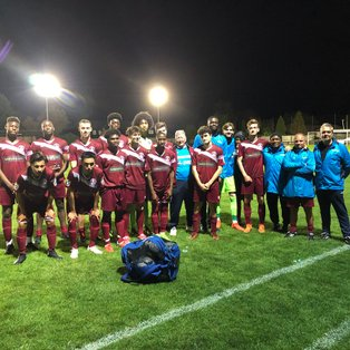Royston Town 1 Chelmsford City 3. FA Youth Cup.