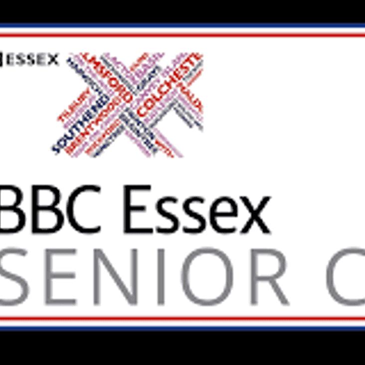 BBC Essex Senior Cup Quarter Final date.