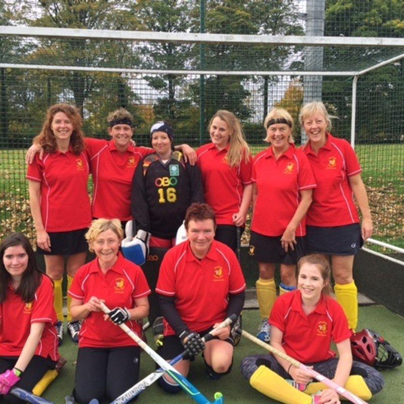 Ladies 1st XI beat Thirsk 12 - 0