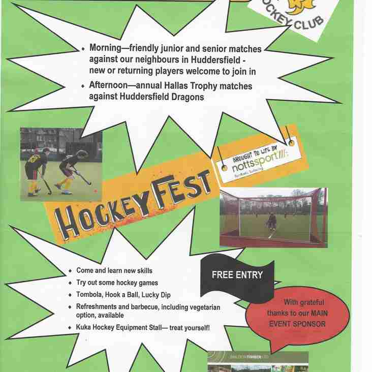HOCKEYFEST 2017 - HALLAS TROPHY
