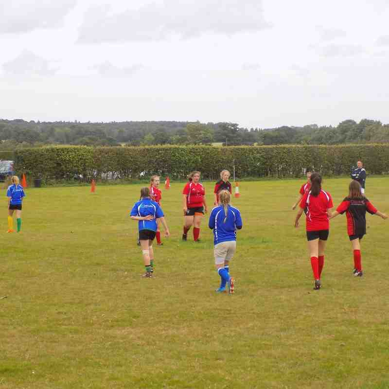 Girls - Norfolk 10's at North Walsham
