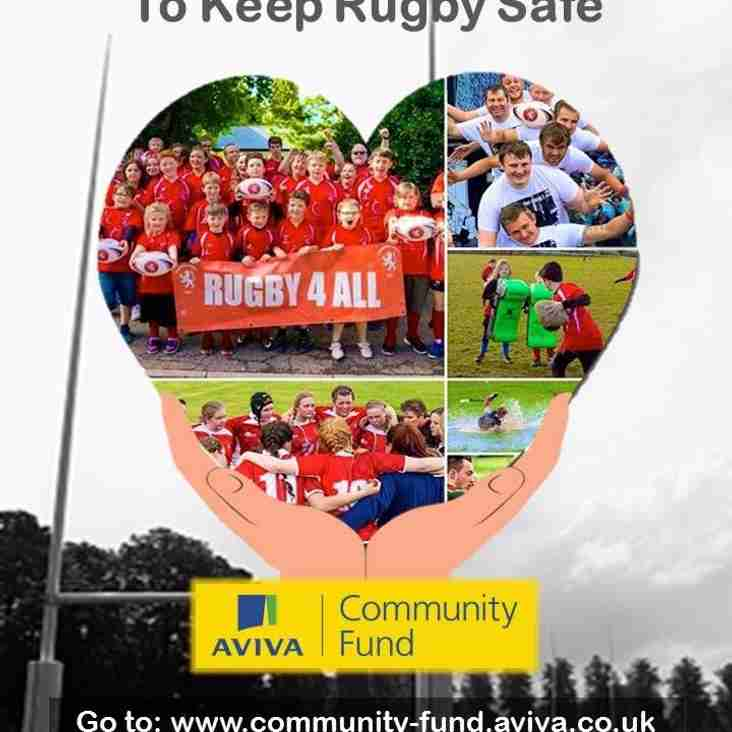 Vote for Lakenham-Hewett Rugby Club - 2016 Aviva Community Fund
