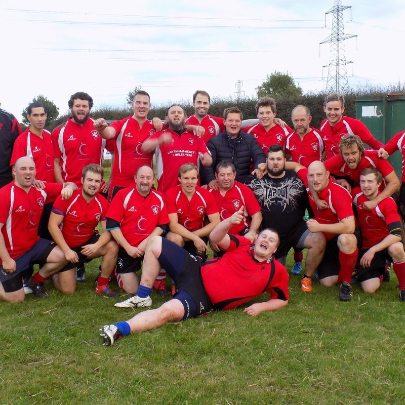 Mens 1st Team Squad lose to University of East Anglia 61 - 5