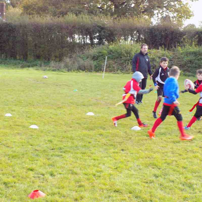 Mini U7/U8 Training 13/11/2016
