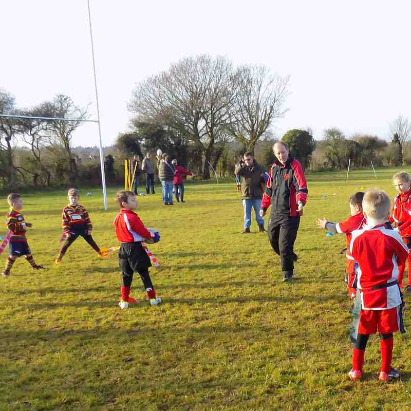 Minis U7/U8 At home to Norwich and Fakenham 11/12/2016