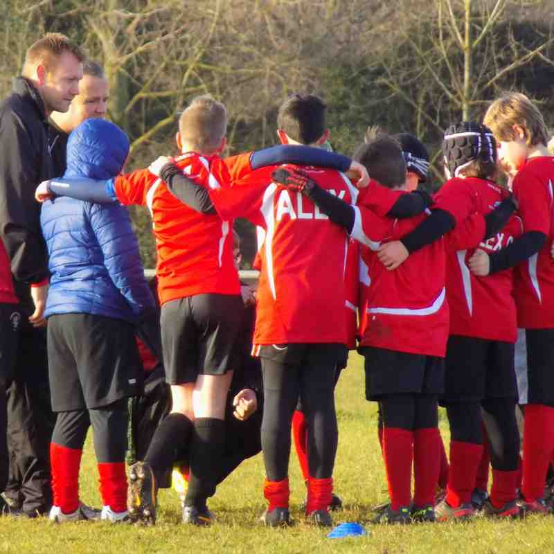 Minis U10/U11 At home to Norwich and Fakenham 11/12/2016