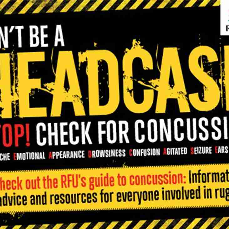 Don't be a HEADCASE - Concussion awareness