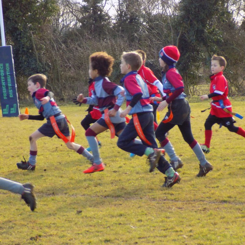 Minis at home to Fakenham and West Norfolk 29/01/2017
