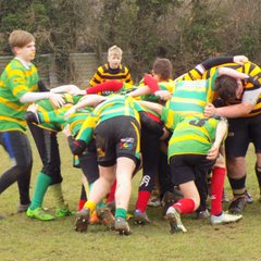 Boys with Crusaders vs Southwold  March 2017