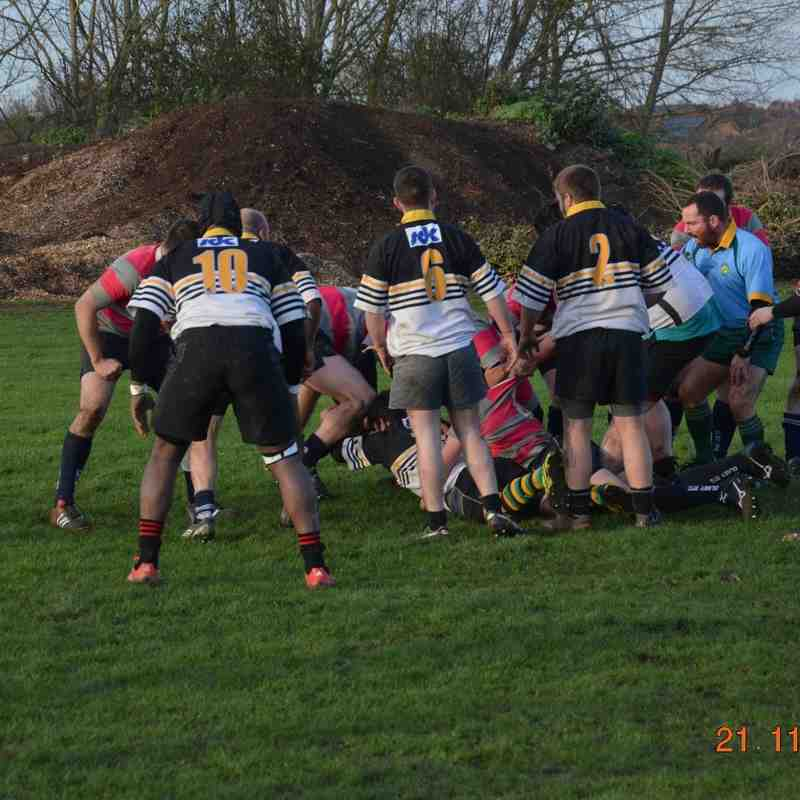 Rushden 2nd XV vs Olney 2nds - 21/11/15 - great game to watch!