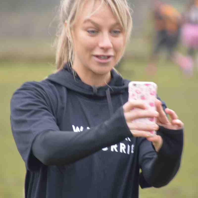 Inner Warrior - Chloe Madeley joins Rushden & Higham ladies for a training session - Sunday 29/01/17