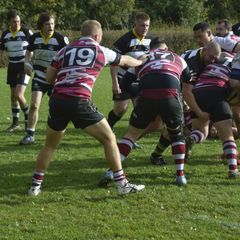Rushden !st XV v Queens 21-10-17 - lost 43 - 5 - awful display of refereeing not to blame for our loss however.