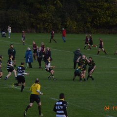 Rushden 1st xv Leicester Vipers - hard day at the office in 41-0 defeat away