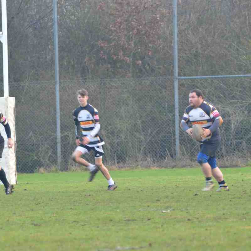 R & H 3rds vs Huntingdon Staggerers(Vets) -