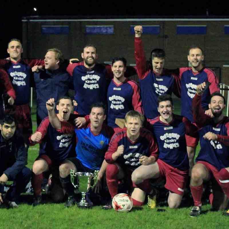 The Urban Bar Premier Division Cup Final : Dunscroft Utd v Kinsley Boys