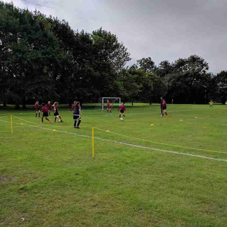 Suffolk FA cup semi-final for U12 Girls