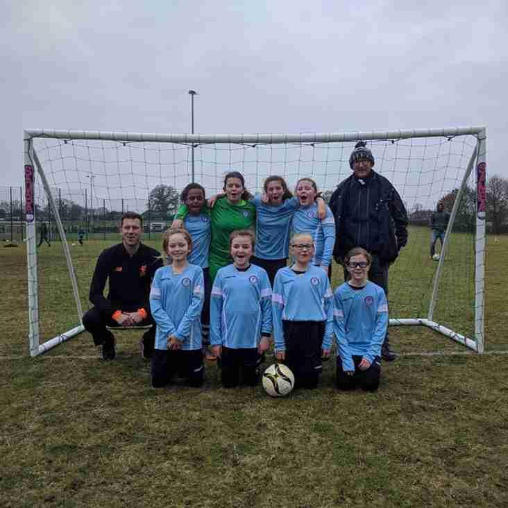 U12 Girls win through to Cup Final