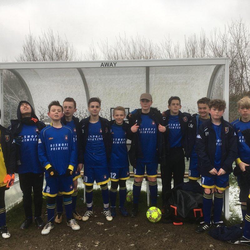 Petersfield Town Juniors Phantoms vs. Sarisbury Sparks White