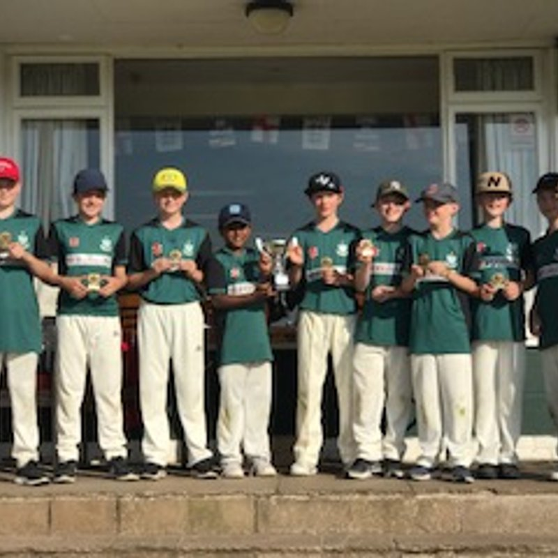 Tattenhall U12 win the Malpas Festival 2018