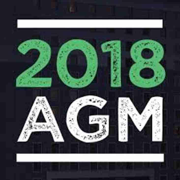 2018 AGM Notices