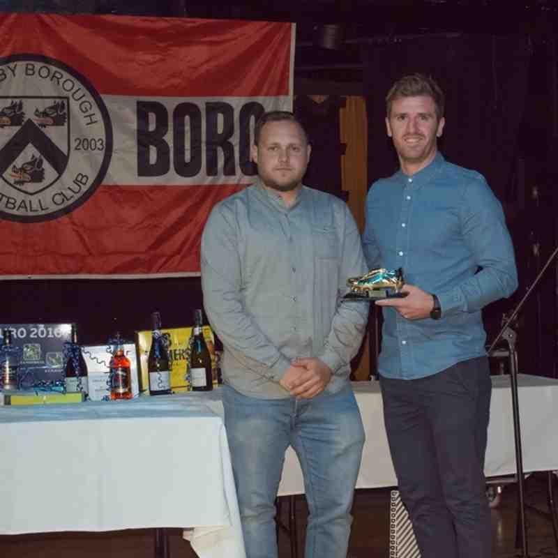 Grimsby Borough 1st Team Presentation Awards 2015/16