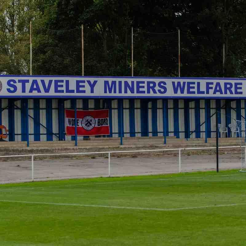 Staveley Miners Welfare 2-0 Grimsby Borough (Away FA Vase) 24.09.2016