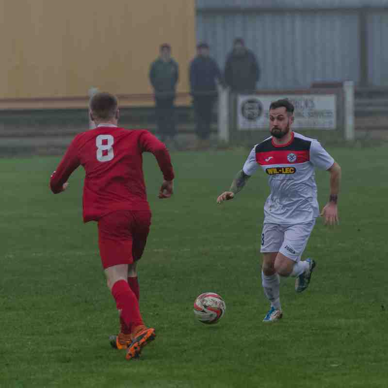 Selby Town 2-1 Grimsby Borough (Away League) 26.11.2016