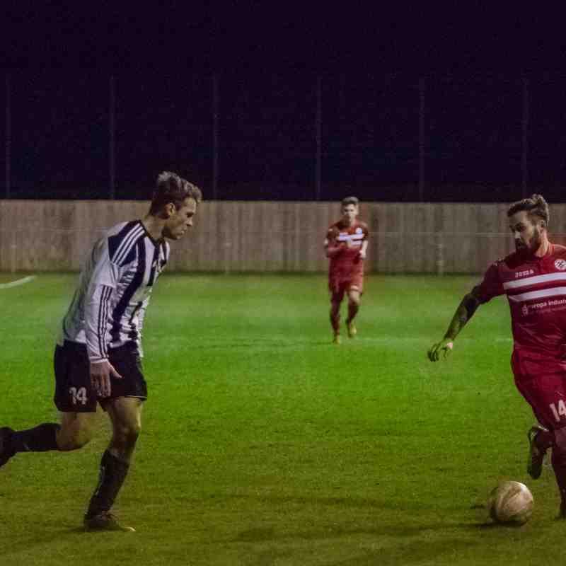 Grimsby Borough 3-3 Westella & Willerby (Home League) 03.01.2017