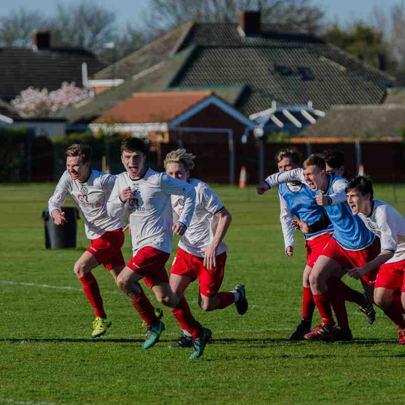 Immingham Town Development 2-2 Grimsby Borough Development (Town Trophy Semi-Final Boro win 4-3 on penalties)