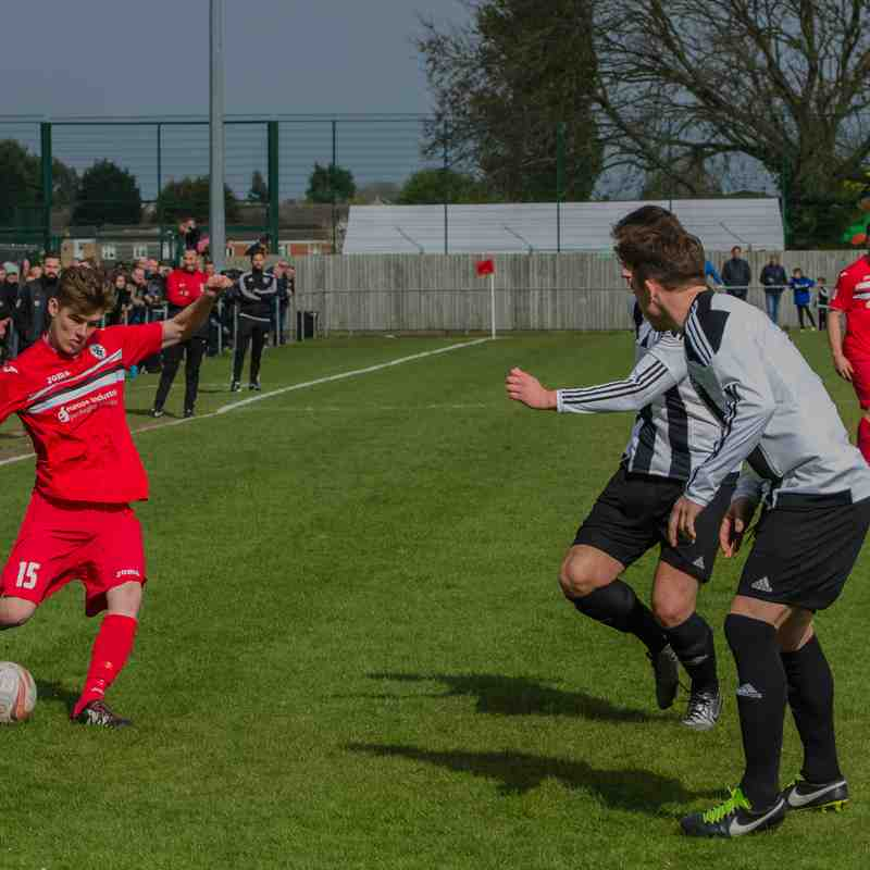 Grimsby Borough 2-4 Penistone Church (Home Play Off Final) 29.04.2017