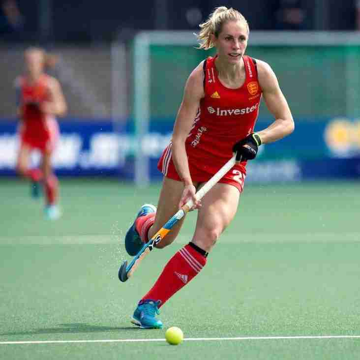 England star Jo Hunter