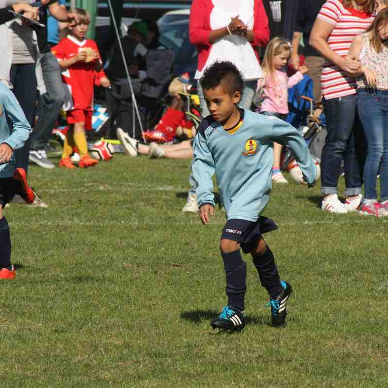 Daventry Tournament 18-7-15 Banbury United Spencer U9 Blues